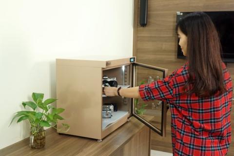 Các loại tủ chống ẩm cho máy ảnh phổ biến hiện nay
