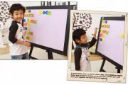 Ứng dụng của bảng flipchart trong nhà trẻ