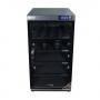 Tủ chống ẩm cao cấp Nikatei NC-100S viền nhôm mạ bạc