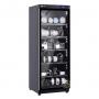 Tủ chống ẩm cao cấp Nikatei NC-120S viền nhôm mạ bạc