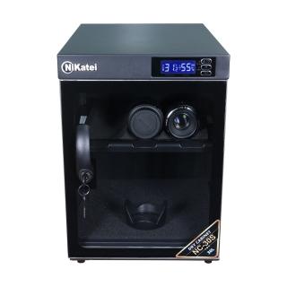 Tủ chống ẩm cao cấp Nikatei NC-30S viền nhôm mạ bạc